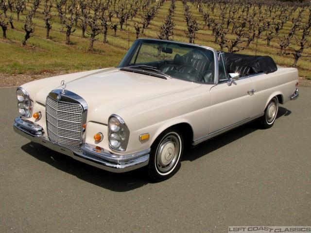 1969 Mercedes 280se Convertible For Sale