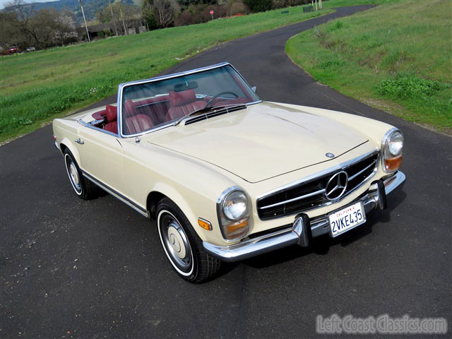 1969 mercedes 280sl roadster w113 pagoda for sale for Mercedes benz 280sl pagoda for sale