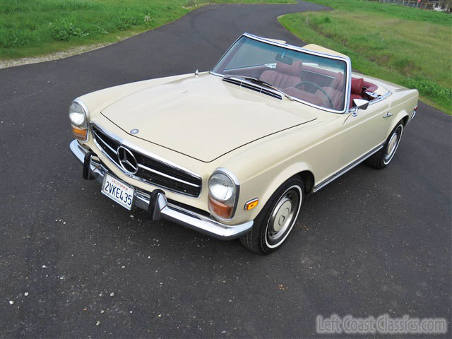 1969 mercedes 280sl roadster w113 pagoda for sale for Mercedes benz 280sl pagoda