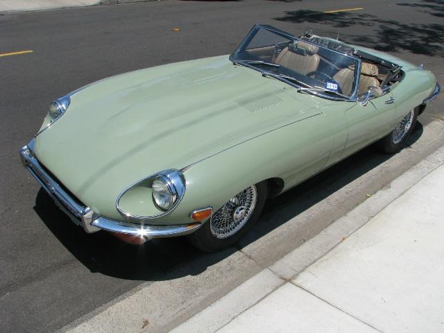 1970 Jaguar XKE Convertible Roadster