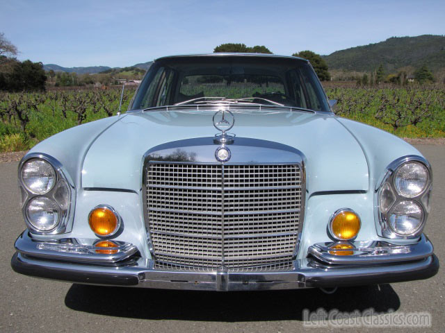 1970 Mercedes-Benz 280S Sedan. 88000 Original Miles, California Car