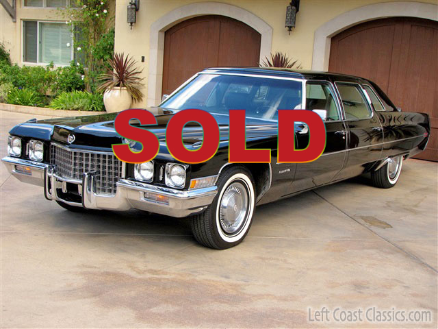 1971 Cadillac Fleetwood Limousine For Sale