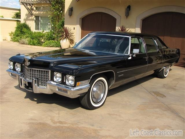 1971 Cadillac Fleetwood Series 75 Limousine Photo Gallery