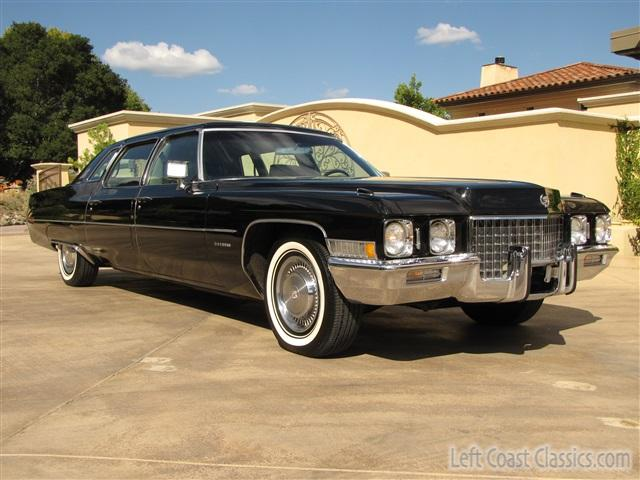 1971 Cadillac Fleetwood 75 Limousine