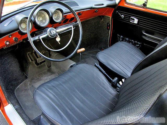 1971 Volkswagen Squareback Interior