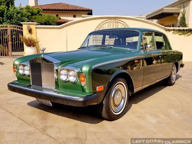 1973 rolls-royce silver shadow for sale
