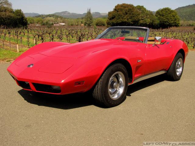 1974 Corvette L82 Convertible For Sale
