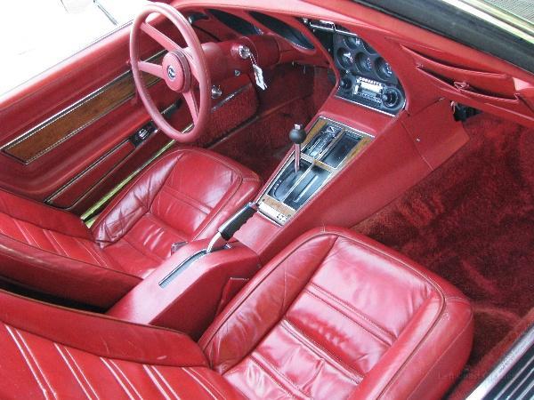 1976 Corvette Stingray Interior Img 6687