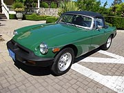 1977 MGB Roadster Convertible
