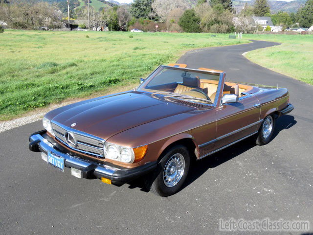 1978 Mercedes Benz 450sl Convertible For Sale