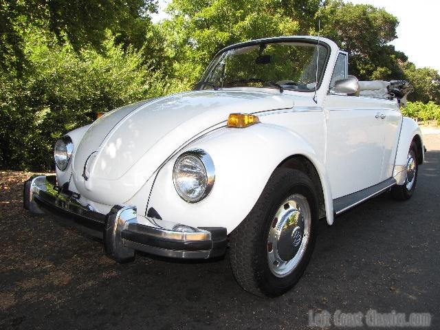 1978 Volkswagen Super Beetle Convertible Body Gallery 1978