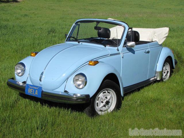 1979 vw super beetle convertible for sale. Black Bedroom Furniture Sets. Home Design Ideas