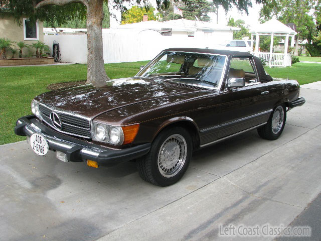 1980 Mercedes Benz 450sl Sonoma Ca Usa Cheap Used