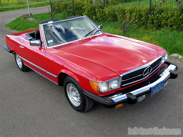 1980 mercedes benz sl class sl ebay. Black Bedroom Furniture Sets. Home Design Ideas
