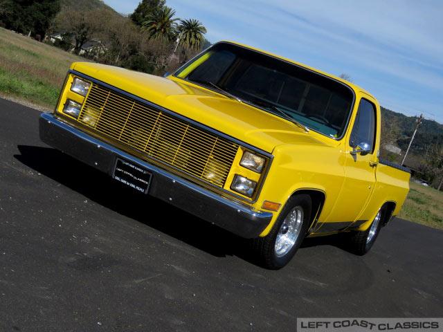 1982 Chevrolet C10 Pro Street Truck for Sale