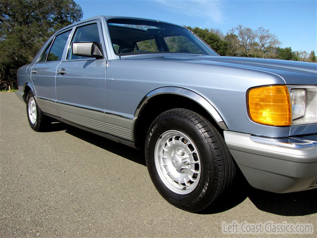 1985 mercedes benz w126 380se for sale with 16k miles for Mercedes benz w126 for sale