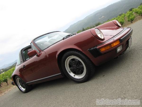 1985 Porsche 911t Carrera Body Gallery 1985 Porsche 911
