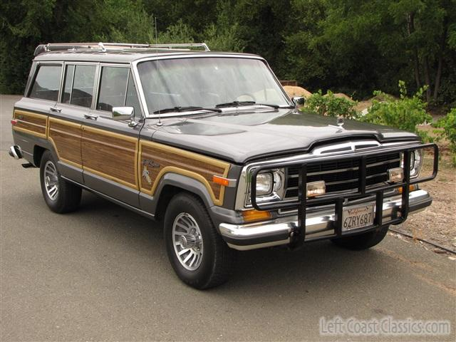 1989 Jeep Grand Wagoneer Photo Gallery 1989 Jeep Grand