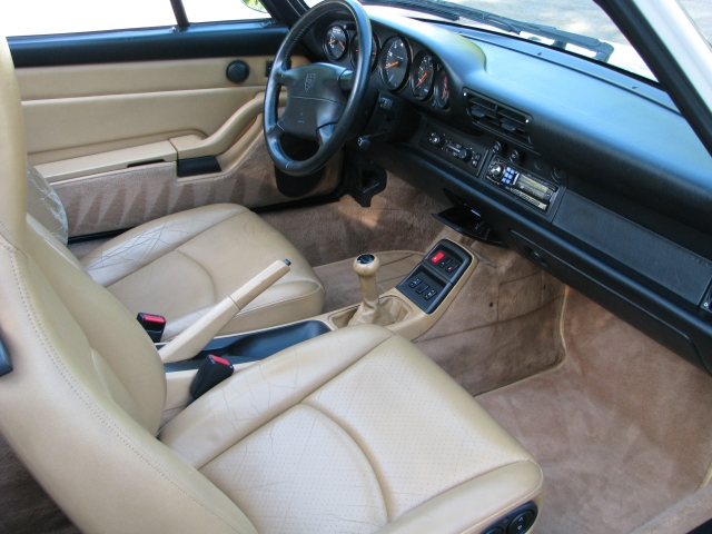 1995 Porsche 911 993 Carrera Cabriolet C2 For Sale