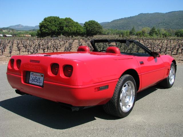 1996 Chevrolet Corvette Convertible Related Infomation