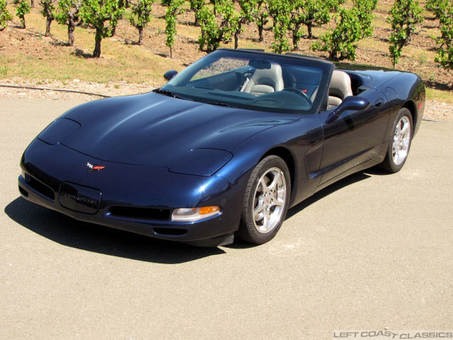 2001 Corvette C5 Convertible For Sale
