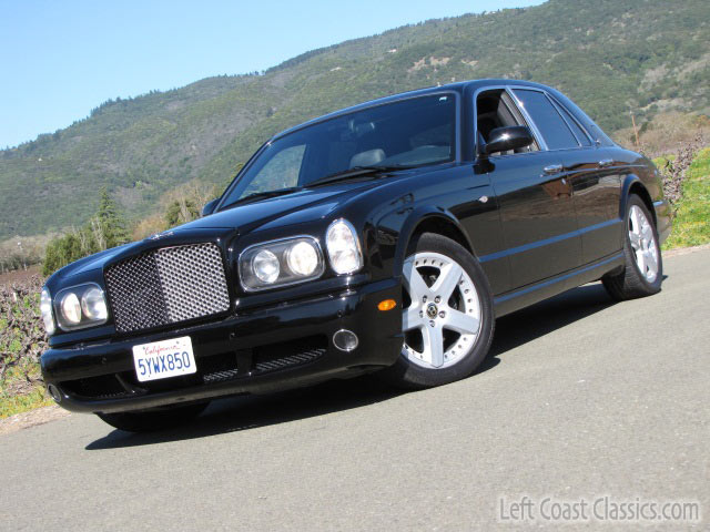 2003 bentley arnage t turbo for sale. Black Bedroom Furniture Sets. Home Design Ideas