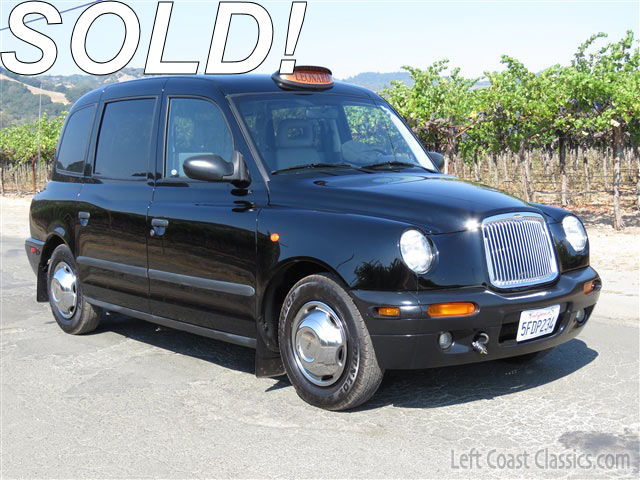 2003 london taxi lti txii executive sedan for sale. Black Bedroom Furniture Sets. Home Design Ideas