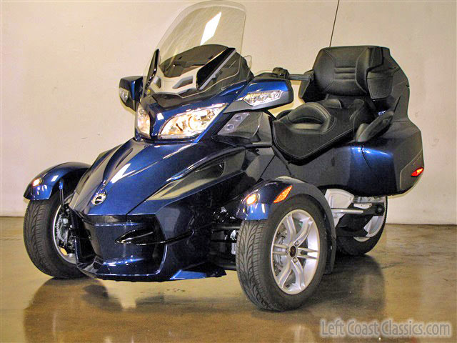 2011 can am spyder rt 623 miles for sale on 2040 motos. Black Bedroom Furniture Sets. Home Design Ideas