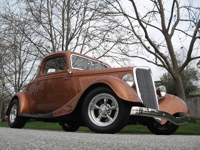 1934 Ford 3-Window Coupe Hotrod for Sale