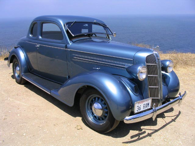 1936 Dodge D2 Rumble Seat Coupe For Sale