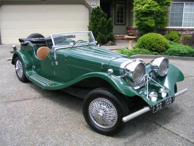 Mk Roadster Kit Car For Sale
