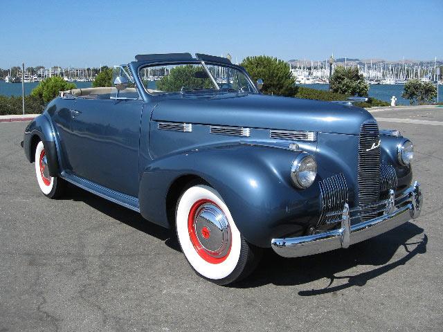 Carros dos anos 1922 a 1948 for 1940 mercury 4 door convertible