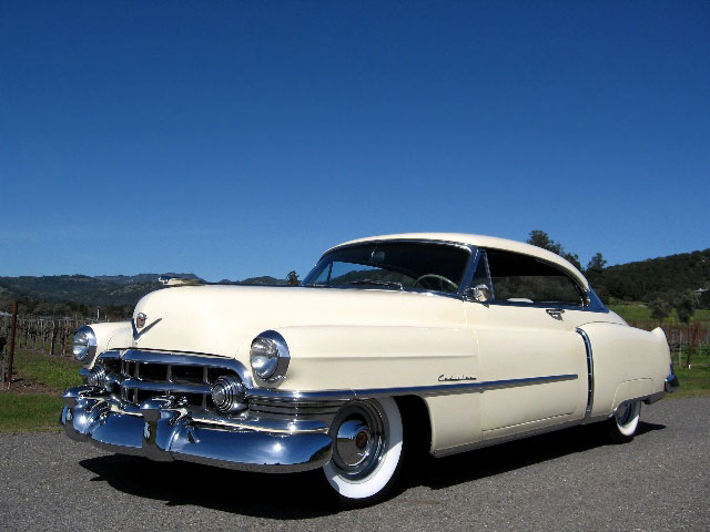1950 Cadillac CDV for Sale: Beautiful Series 61 Coupe