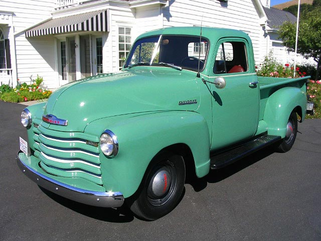1951 Chevrolet Pickup For Sale Chevy 3100 Pickup