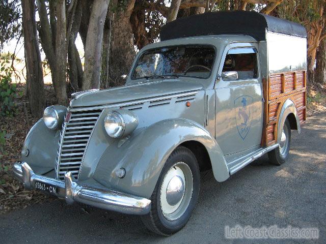 Fiat Woodie on Fiat 1100 Truck