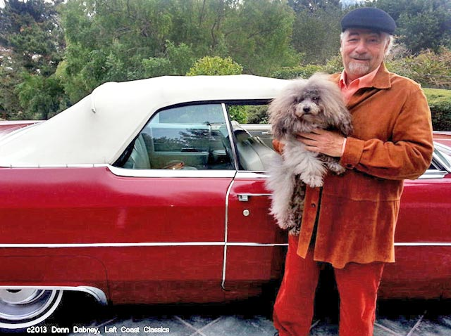 Michael savage and his famous cadillac